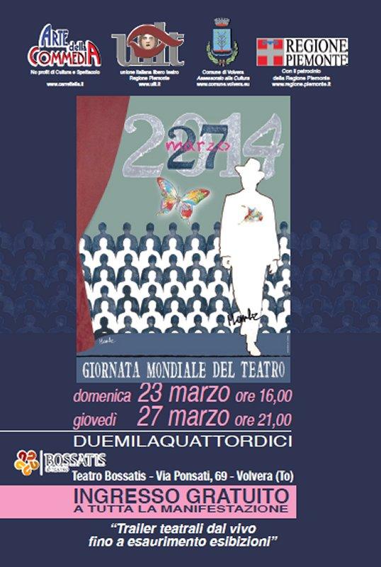 27 Marzo: Giornata mondiale del Teatro