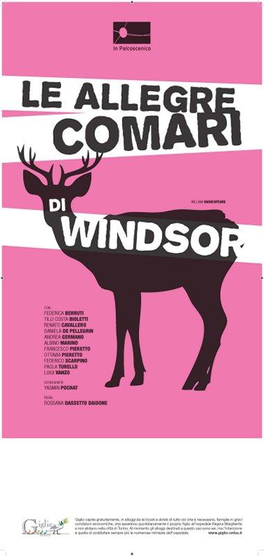 15 Febbraio a  Teatro: Le allegre comari di Windsor