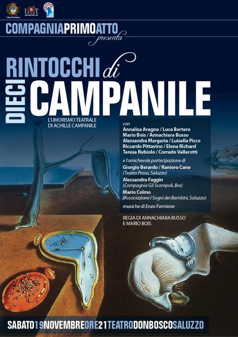 """Sabato 12 Aprile a Teatro: """"Dieci rintocchi di Campanile"""""""