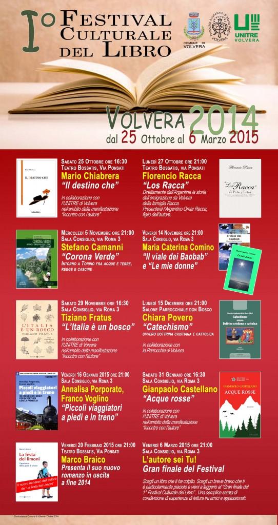 Locandina Festival del libro