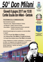 Commemorazione Don Milani