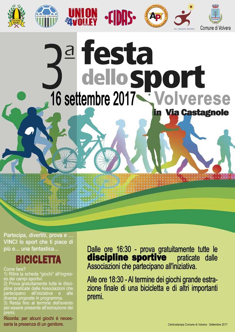3° Festa dello Sport Volvera