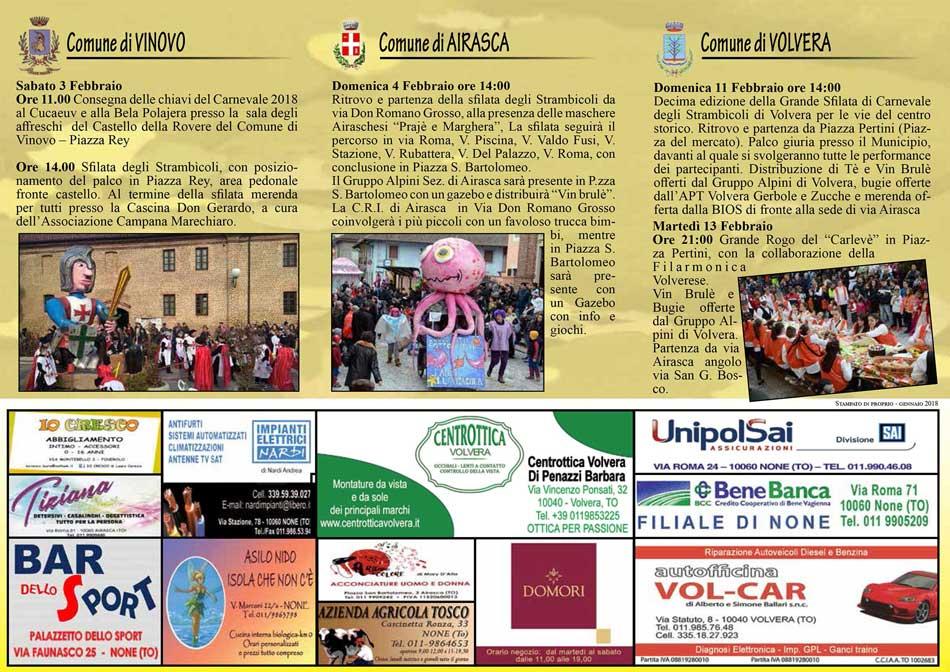 Decima edizione della Grande Sfliata di Carnevale degli Strambicoli