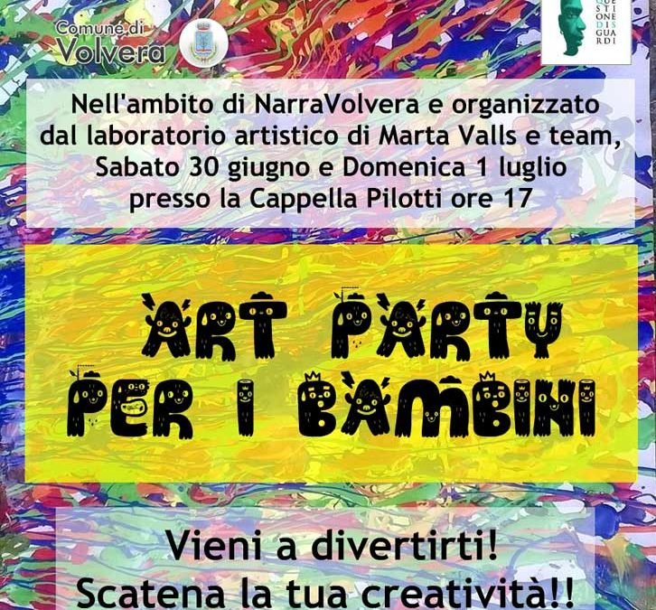 Art party per i bambini