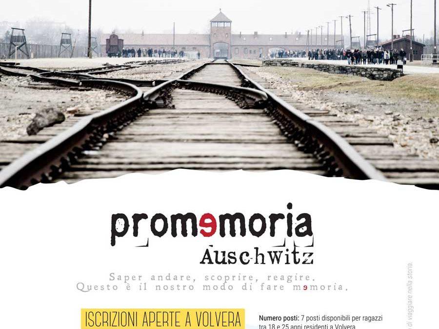 Promemoria_Auschwitz 2019: Iscrizioni aperte a Volvera